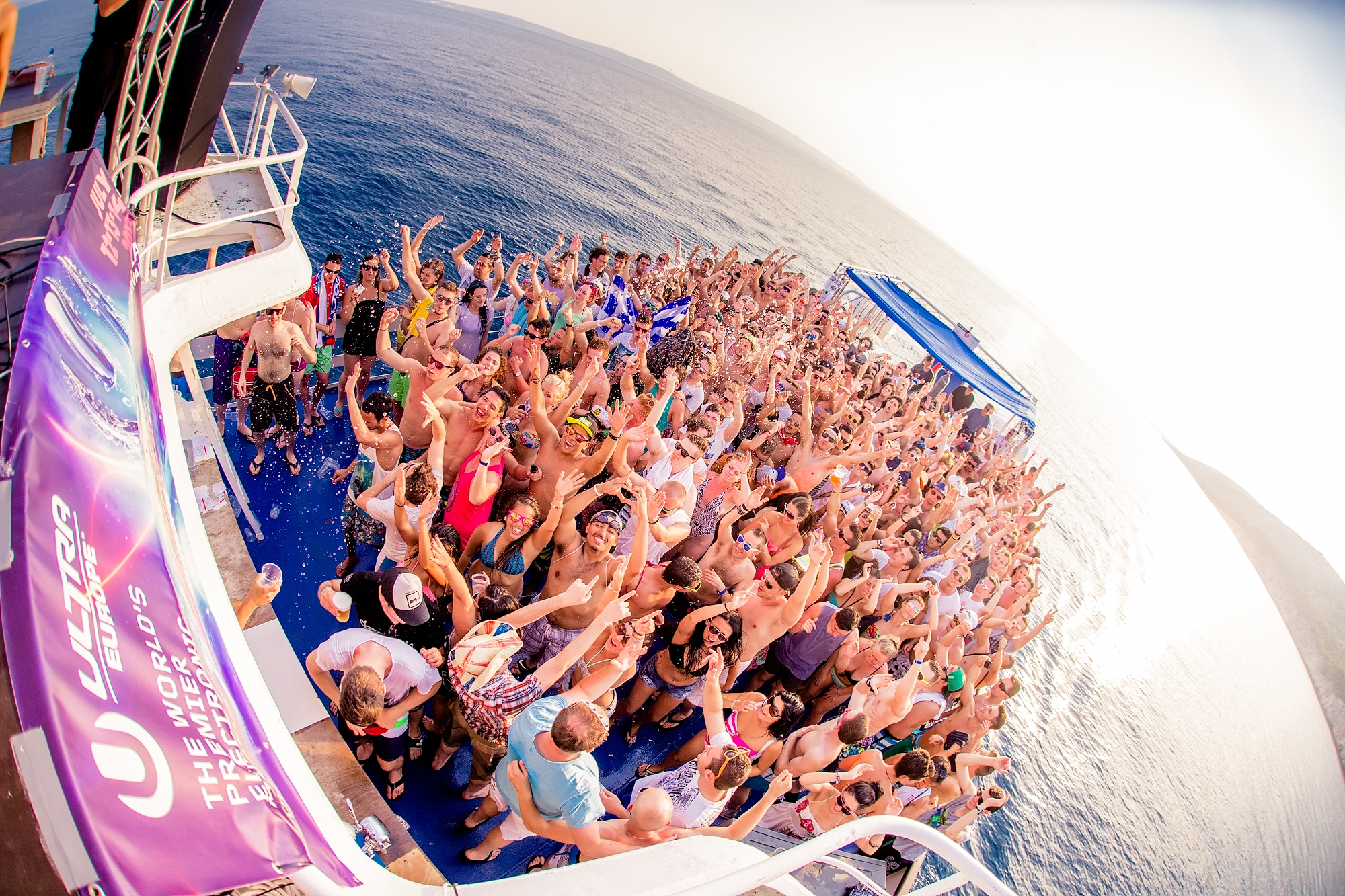 ultra boat party split